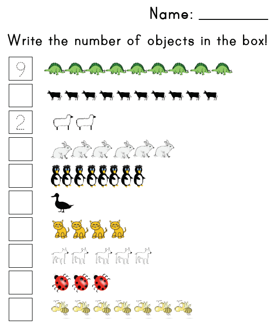 Free Worksheets Numbers Matching Worksheet Free Math – Matching Worksheets for Preschool
